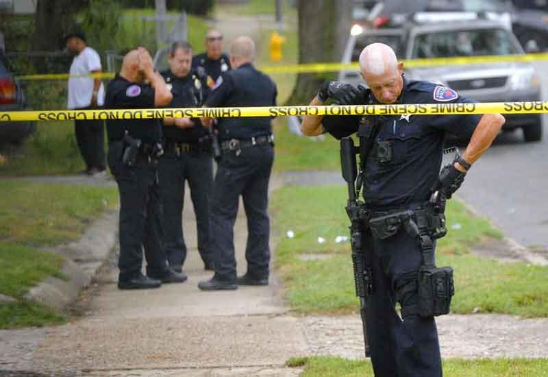 ABŞ-da partlayış: Polislər yaralandı
