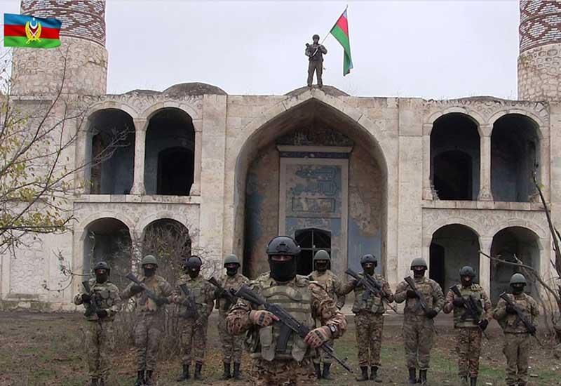 Azərbaycan Ordusu Ağdama bayrağı belə sancdı – VİDEO
