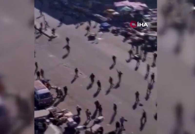 Bağdadda kamikadze terrorçular özlərini belə partlatdılar - VİDEO