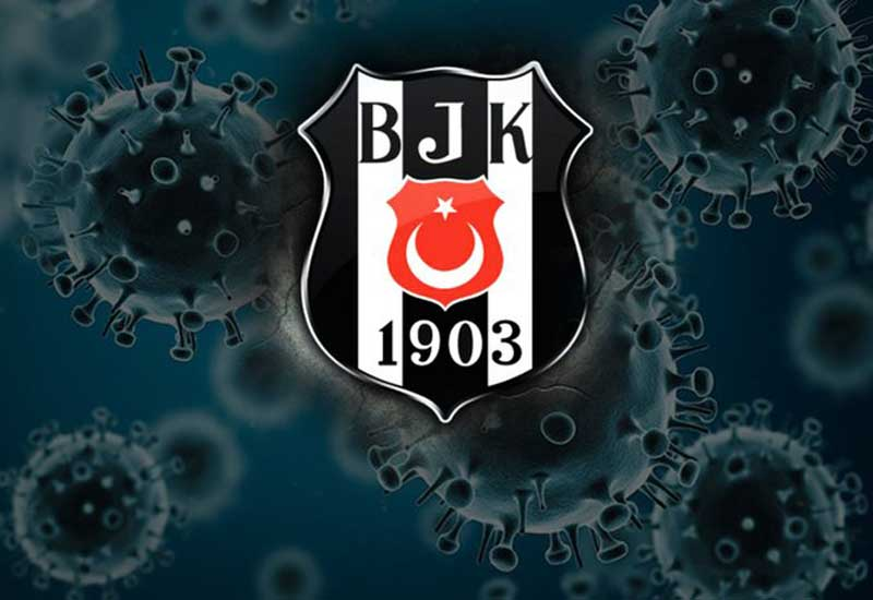 Beşiktaşda koronavirus şoku