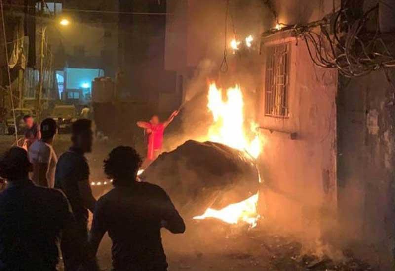 Beyrutda güclü partlayış: Ölənlər var - VİDEO