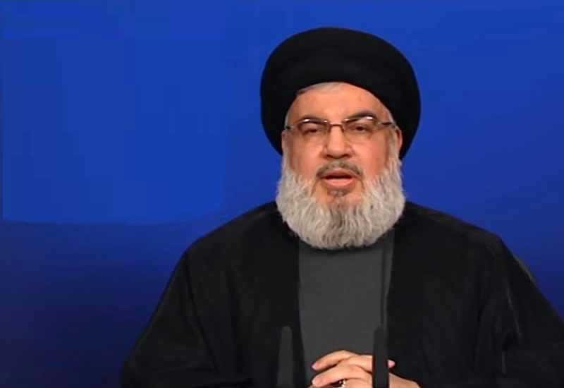 Hizbullah lideri Beyrut partlayışından danışdı