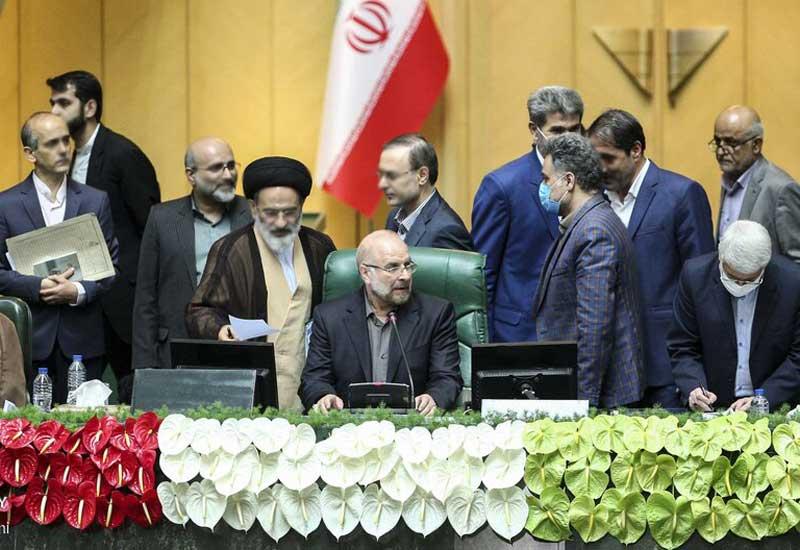 İran Parlamentinin sədri Bağdad terrorunu pislədi