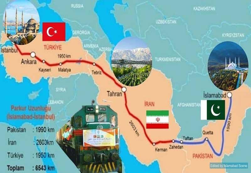 İstanbul - Tehran - İslamabad yük qatarının hərəkəti bərpa olundu