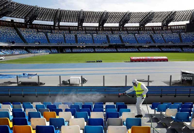 Koronavirusa görə İtaliyada futbol yarışları dayandırıldı