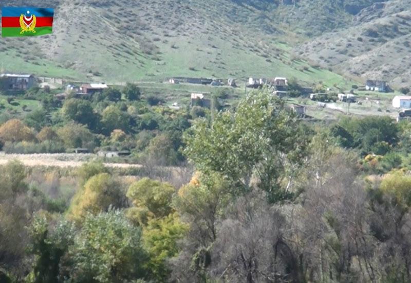 Müdafiə Nazirliyi Qubadlı rayonunun işğaldan azad edilmiş kəndlərinin VİDEOsunu yaydı