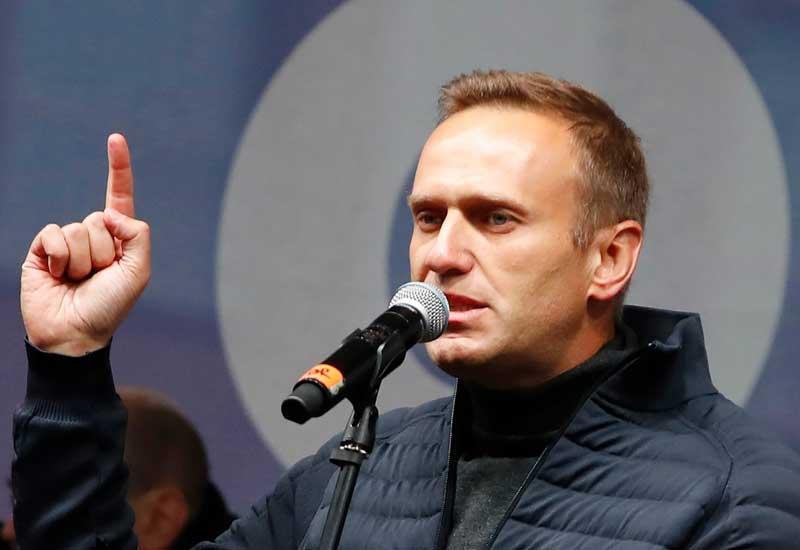 Navalnı Rusiyaya gələn kimi saxlanılıb