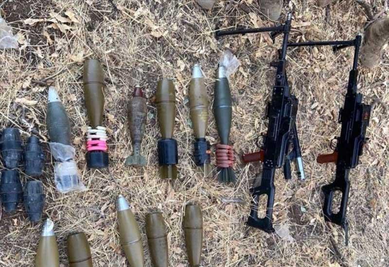 PKK-nın silah-sursatı aşkar edildi