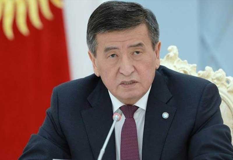 Qırğızıstan prezidenti: İstefa verdim