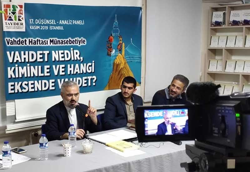 """TAYDER-in """"Vəhdət Həftəsi"""" paneli - VİDEO"""