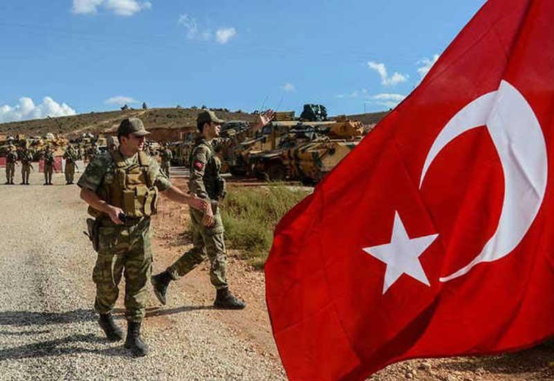 Türkiyə Suriya sərhədində 3 PKK terrorçusunu zərərsizləşdirdi