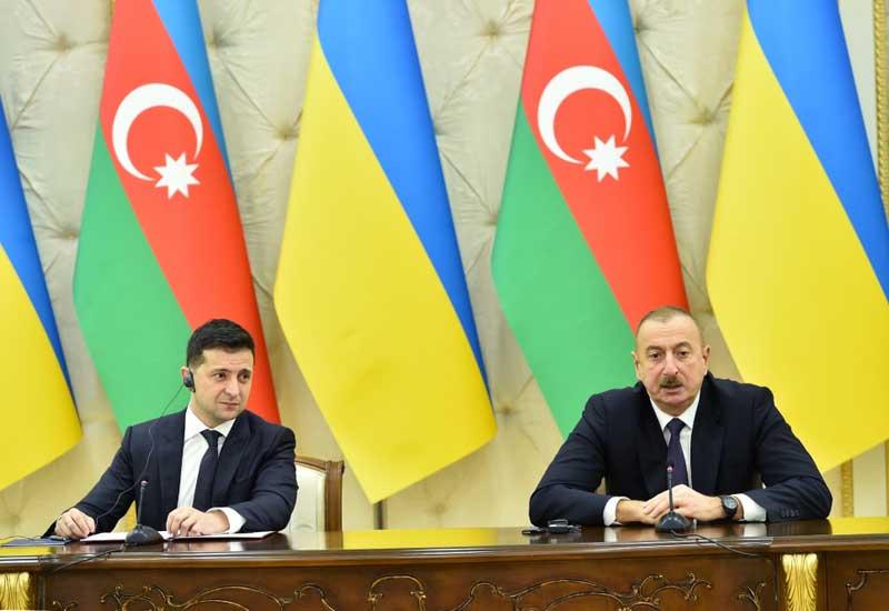 Ukrayna Prezidenti Vladimir Zelenski Azərbaycanı tərəfdaş seçdi