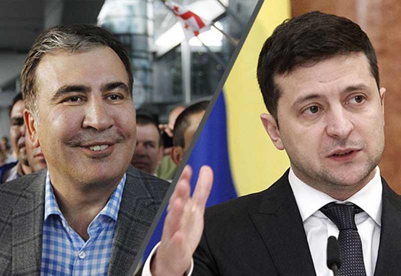Zelenski Saakaşvilini şuradan çıxardı